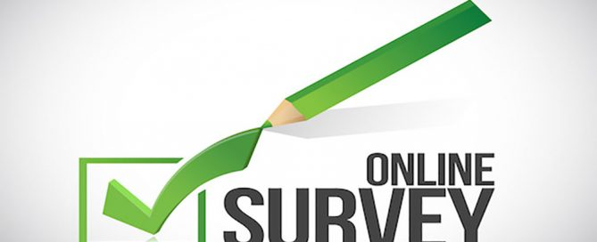 online survey check box illustration design