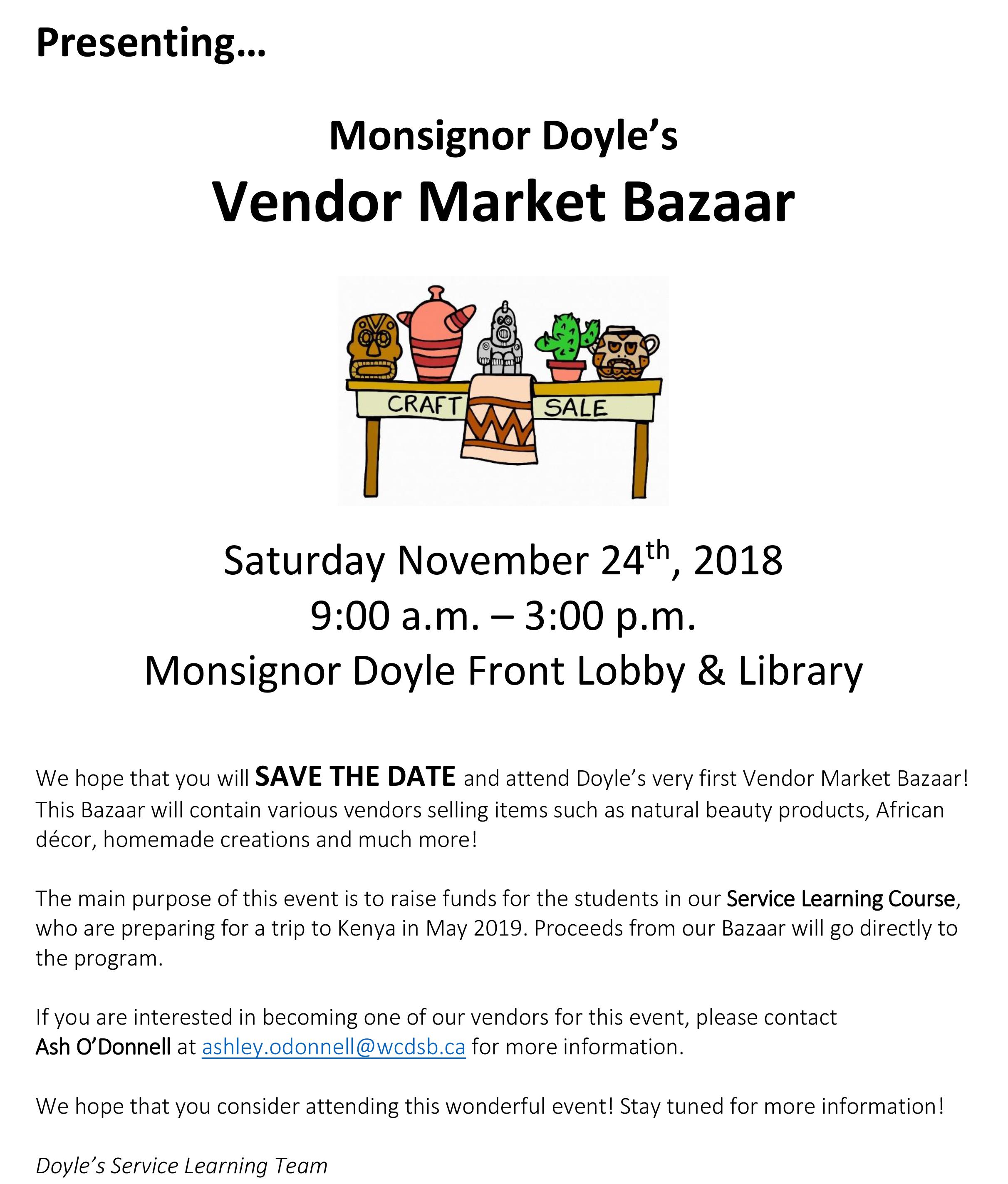 Vendor Market Bazaar